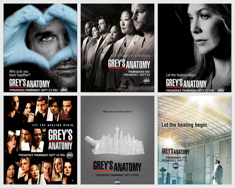 Serial greys anatomy season 9 - Demons and angels series