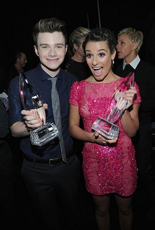 Chris-Colfer-Lea-Michele-peoples-choice-awards-2013-essentiel-series