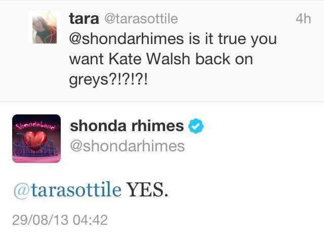 """Shonda Rhimes confirme qu'un ancien personnage revient dans """"Grey's Anatomy"""""""