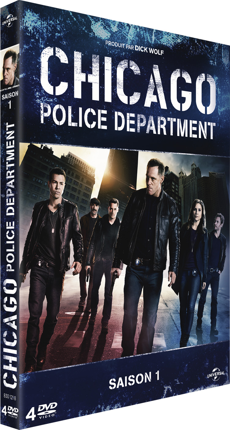 chicago police départment en coffret 4 dvd le 3 mars prochain