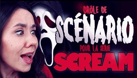 Drôle de scénario pour la série Scream