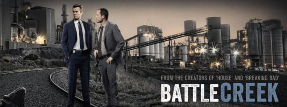 Josh Duhamel et Dean Winters dans Battle Creek