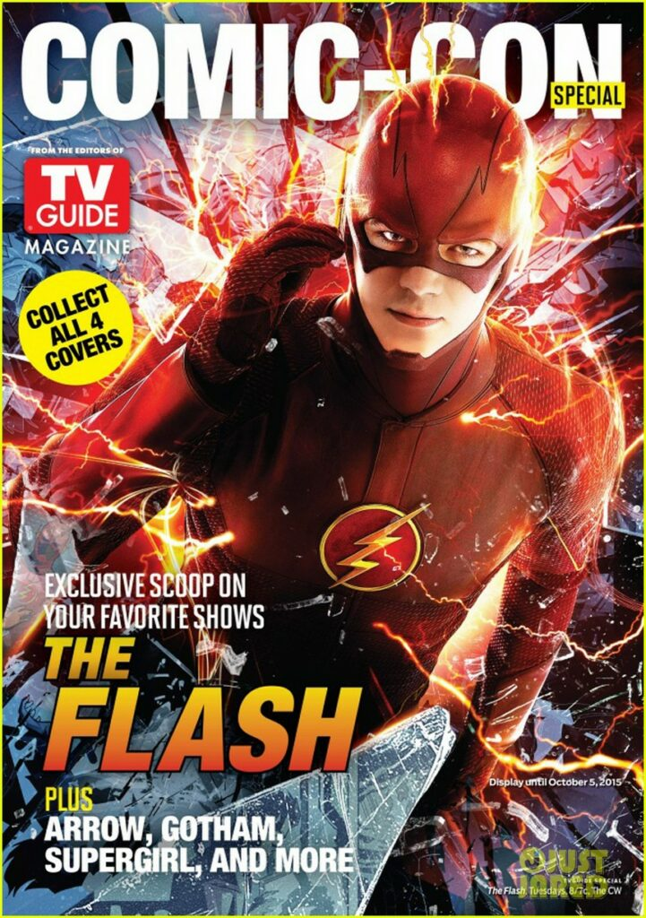 grant-gustin-flash-tv-guide-cover-essentiel-series