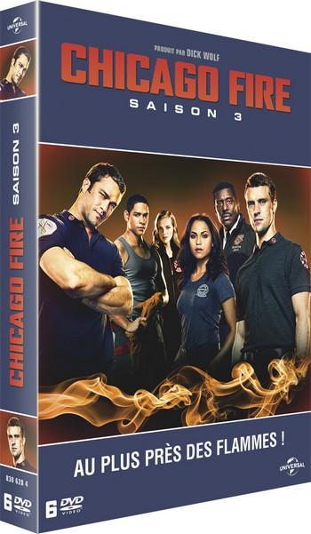 Chicago Fire Saison 3 en DVD dès le 2 mars 2016